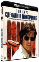 Сделано в Америке (Blu-Ray 4K Ultra HD) / American Made