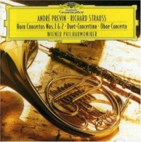 Andre Previn. Strauss, R.: Horn Concertos Nos. 1&2; Duet Concert (CD)