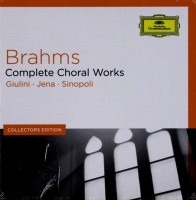 Audio CD Various Artists. Brahms: Choral Works