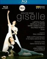 Blu-Ray Laëtitia Pujol / Nicolas Le Riche / Wilfried Romoli / Marie-Agnès Gillot / Paris National Opera Orchestra / Paul Connelly. Adam: Giselle