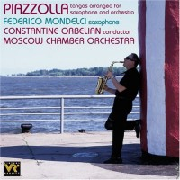 Audio CD Federico Mondelci / Constantine Orbelian / Moscow Chamber Orchestra. Piazzolla: Tangos Arranged For Saxophone And Orchestra