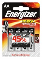 товар Элементы питания ENERGIZER MAX+Power SEAL E91/AA FSB4