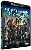 Черепашки-ниндзя (Blu-Ray 4K Ultra HD) / Teenage Mutant Ninja Turtles