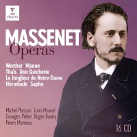Audio CD Michel Plasson / Georges Pretre / Lorin Maazel / Pierre Monteux / Roger Boutry. Massenet - Operas