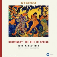 LP Philharmonia Orchestra / Igor Markevitch. Stravinsky: The Rite Of Sprin (LP)