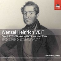 Audio CD Kertész Quartet. Veit: Complete String Quartets, Vol. 2