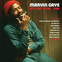 LP Marvin Gaye. Let's Get It On: Live (LP)