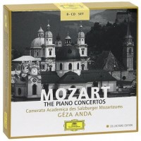 Audio CD Geza Anda. Mozart. The Piano Concertos