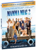 Mamma Mia! 2. Специальное издание (Blu-Ray+DVD) / Mamma Mia! Here We Go Again