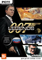 007 Legends. Русская версия (DVD) [PC] (118443)