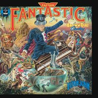 Elton John. Captain Fantastic And The Brown Dirt Cowboy (LP)