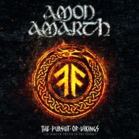 DVD + Audio CD + Blu-Ray Amon Amarth. The Pursuit Of Vikings: 25 Years In The Eye Of The Storm (2CD+3DVD+Blu-Ray)