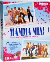 Mamma Mia! 1-2 (2 Blu-Ray 4K Ultra HD) + карточки / Mamma Mia! / Mamma Mia! Here We Go Again