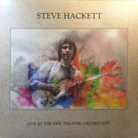 Steve Hackett. Live At The New Theatre, Oxford, 1979 (2 LP)