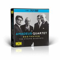 Amadeus Quartet. Beethoven: The String Quartets (Blu-Ray + CD)
