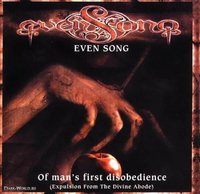 Even Song. Of Man`s First Disobedience (CD)