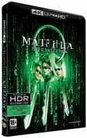 DVD Матрица 2: Перезагрузка (Blu-Ray 4K Ultra HD) / The Matrix Reloaded