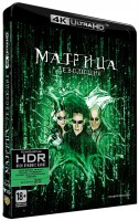 DVD Матрица 3: Революция (Blu-Ray 4K Ultra HD) / The Matrix Revolutions