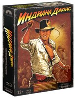 Индиана Джонс. Квадрология + артбук (6 Blu-Ray) / Raiders of the Lost Ark / Indiana Jones and the Temple of Doom / Indiana Jones and the Kingdom of the Crystal Skull