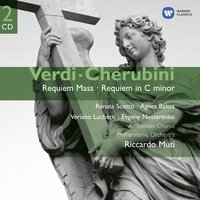 Audio CD Riccardo Muti / Philharmonia Orchestra of London. Verdi: Requiem Mass / Cherubini: Requiem in C minor