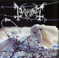 Mayhem. Grand Declaration Of War (CD)