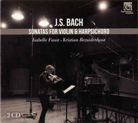 J.S. Bach: Isabelle Faust, Kristian Bezuidenhout ‎– Sonatas For Violin & Harpsichord (2 CD)