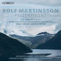 SACD (Super Audio CD) Royal Stockholm Philharmonic Orchestra / Andrew Manze / Sakari Oramo. Martinsson: Presentiment