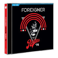 Blu-Ray + Audio CD Foreigner. Live At The Rainbow '78