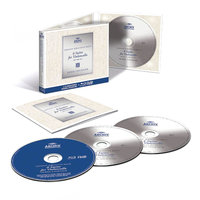 Blu-Ray + Audio CD Pierre Fournier. Bach: 6 Suites For Violoncello BWV 1007-1012