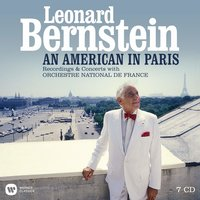 Audio CD Leonard Bernstein. An American in Paris (with the Orchestre National de France - 100th Anniversary on August 25th)