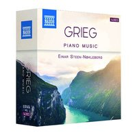 Audio CD Edvard Grieg. Complete Piano Music