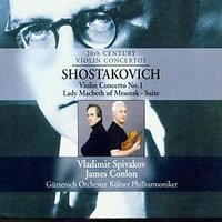 Audio CD Dimitri Schostakowitsch. Violinkonzert 1, Lady Macbeth