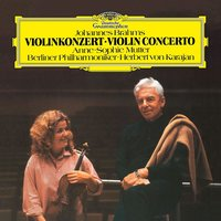 LP Anne-Sophie Mutter. Brahms: Violin Concerto In D (LP)
