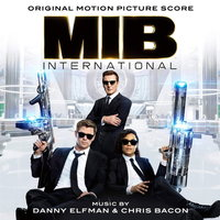 LP Original Motion Picture Score. Danny Elfman / Chris Bacon. MIB In Blac International (LP) / Саундтрек к фильму Люди в чёрном