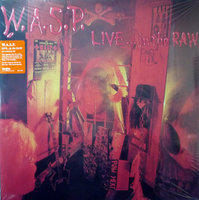 LP W.A.S.P. Live In The Raw (LP)