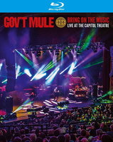 Blu-Ray Gov't Mule. Bring On The Music Live At The Capitol Theatre