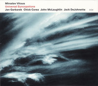 Miroslav Vitous. Universal Syncopations (CD)