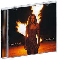 Celine Dion. Courage (Deluxe Edition) (CD)