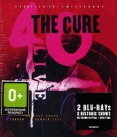 The Cure. 40 Live (Curætion 25 + Anniversary) (2 Blu-Ray)