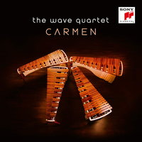 Audio CD The Wave Quartet. Carmen