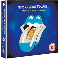 DVD + Audio CD The Rolling Stones. Bridges To Buenos Aires