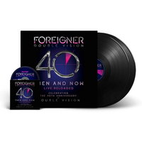 Foreigner. Double Vision - Then And Now (40th Anniversary Edition) (LP + Blu-Ray)
