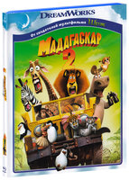 Мадагаскар 2 (Blu-Ray) / Madagascar: Escape 2 Africa