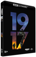 DVD 1917 (Blu-Ray 4K Ultra HD) + артбук / 1917