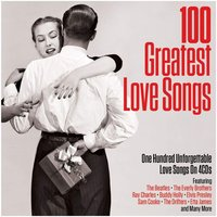 Audio CD Various artists. 100 Greatest love songs