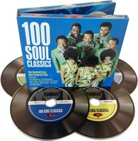 Audio CD Various artists. 100 Soul classics