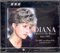 Various. Diana: Princess Of Walles 1961-1997 (recording of the Funeral Service) (CD)