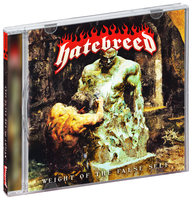 Audio CD Hatebreed. Weight of the false self
