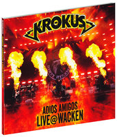 DVD + Audio CD Krokus. Adios Amigos Live @ Wacken