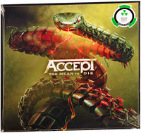 LP Accept. Too Mean To Die (LP)